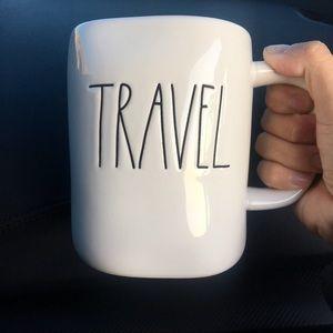 RAE DUNN Travel ceramic mug